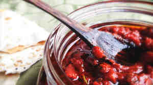 Just a spoonful of the spicy chili paste known as harissa goes a long way