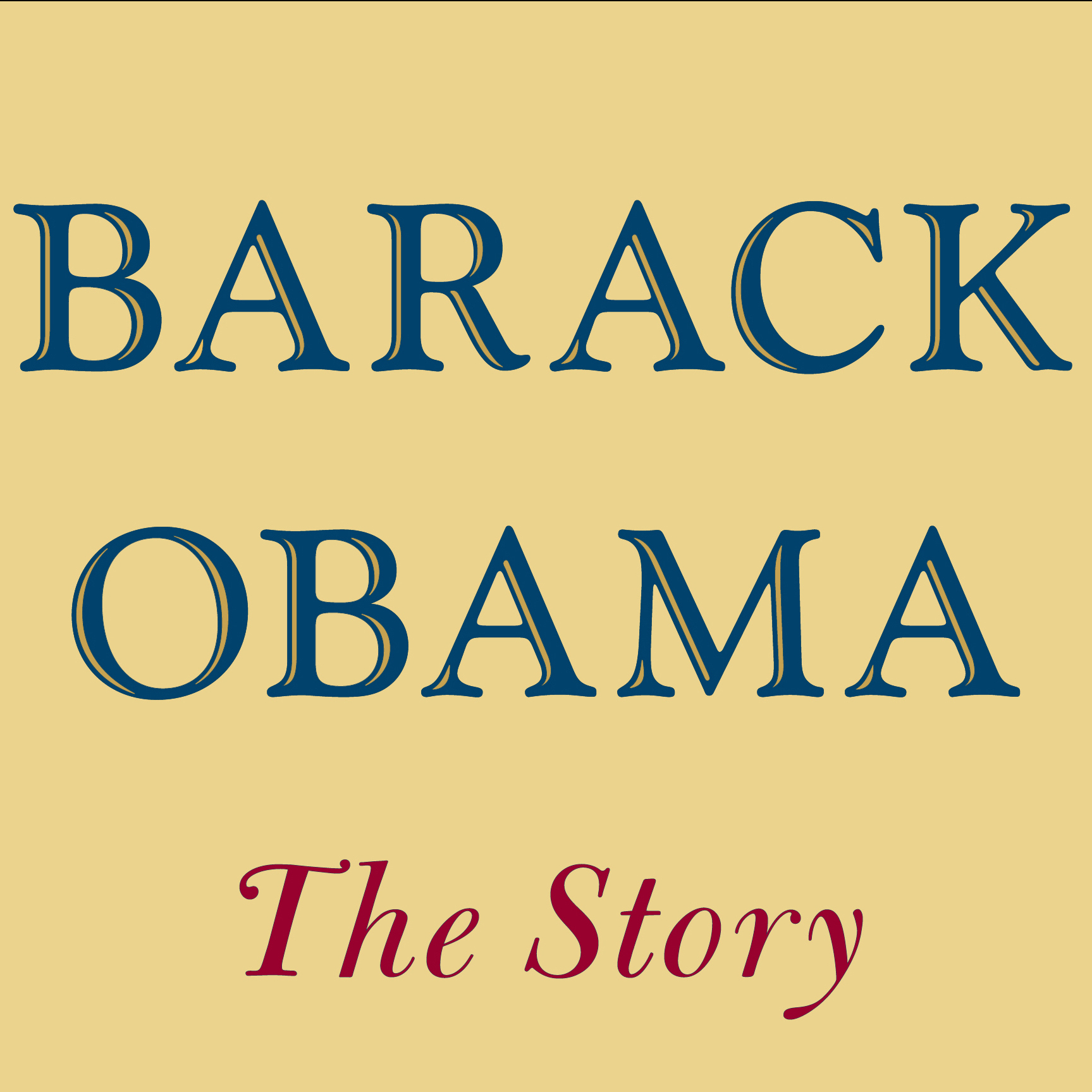 Barack Obama: The Story book cover