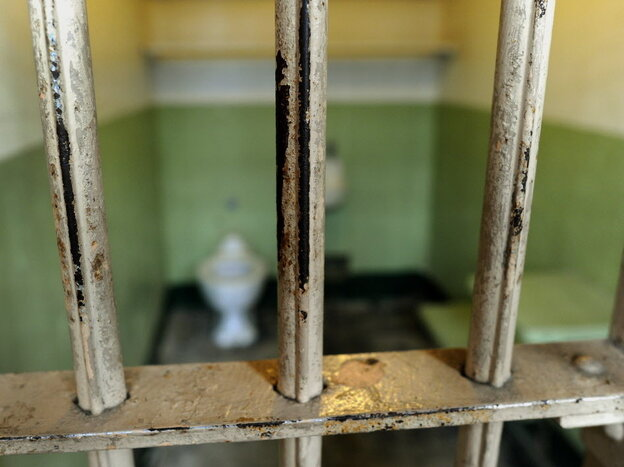 An Alcatraz cell.