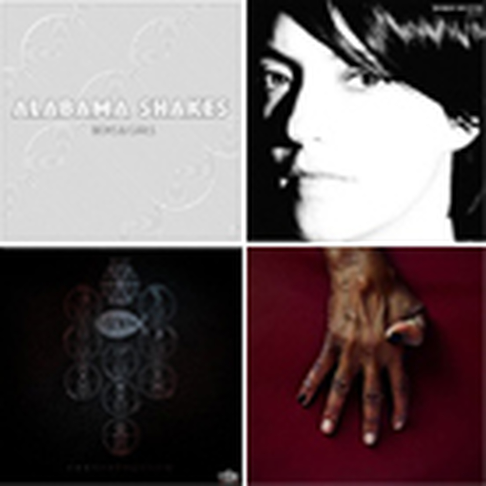 Covers of albums on NPR Music's 25 Favorite Albums Of 2012 (So Far) list.