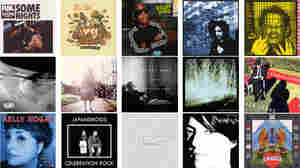 Some of the album covers for NPR Music's 25 Favorite Albums Of 2012 (So Far).