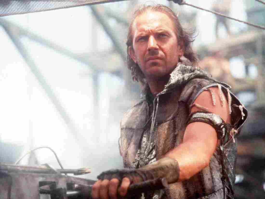 "If you're a fan of Waterworld, then the vision of the future in the Civilization II game played by ""Lycerius"" may be to your liking. (Kevin Costner in a scene from that 1995 movie.)"
