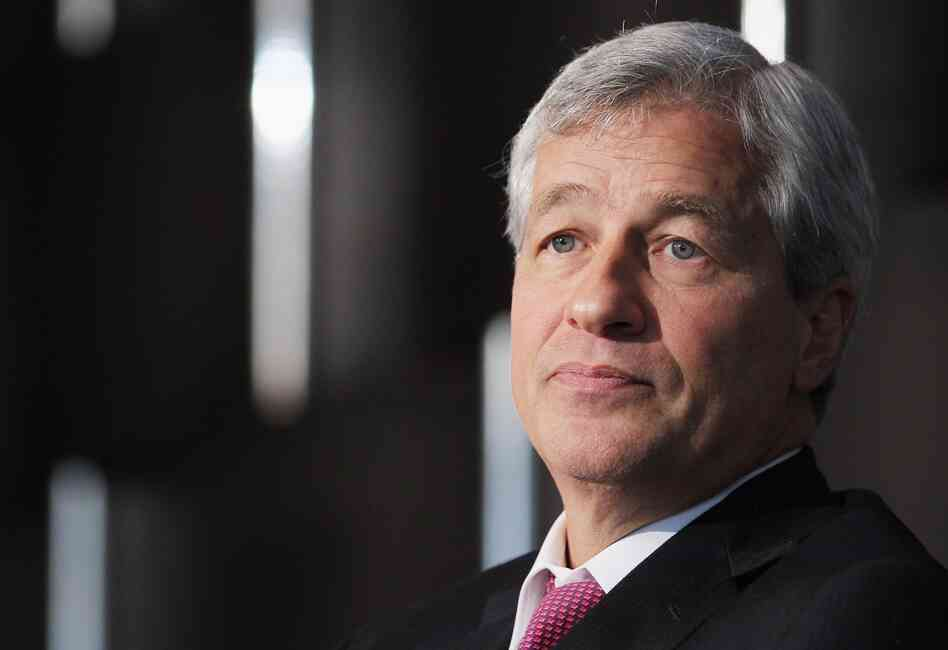JPMorgan Chase Chief Executive Officer Jamie Dimon.