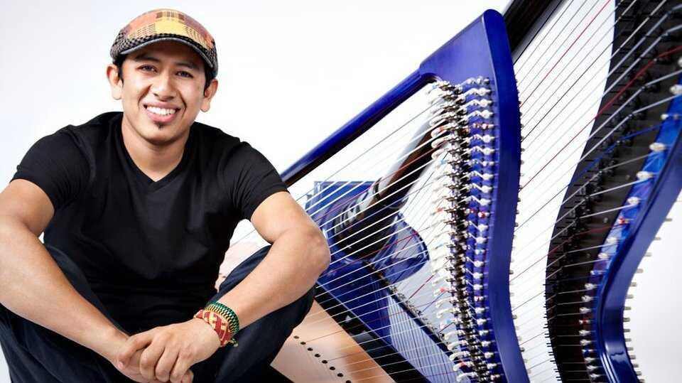 Edmar Castaneda's 'Double Portion' Of Harp