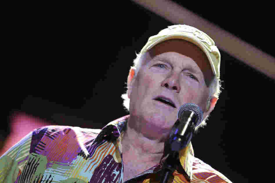LAS VEGAS, NV - MAY 27: Mike Love of the Beach Boys performs at the Red Rock Casino, Resort and Spa on May 27, 2012 in Las Vegas, Nevada. (Photo by Jeff Bottari/Getty Images)