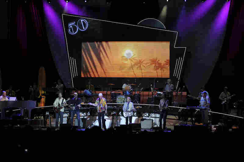 LAS VEGAS, NV - MAY 27: A general view of the Beach Boys performing at the Red Rock Casino, Resort and Spa on May 27, 2012 in Las Vegas, Nevada. (Photo by Jeff Bottari/Getty Images)