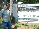 U.S.-born Angel Luis Cruz, the son of Dominican immigrants, owns an insurance company in South Carolina. He says anti-illegal immigration laws have hurt his business.