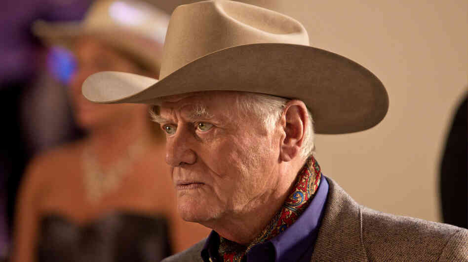 Larry Hagman, as he must, returns to play J.R. Ewing in the rebooted version of Dallas.