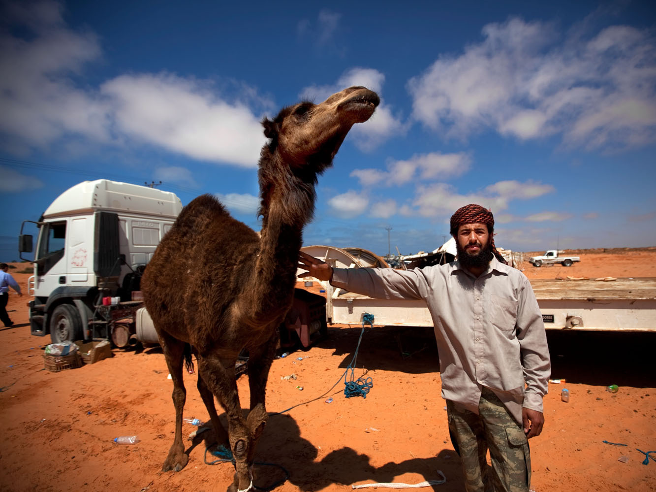 Libyan Menu Prompts The Question: Camel, Anyone? : NPR