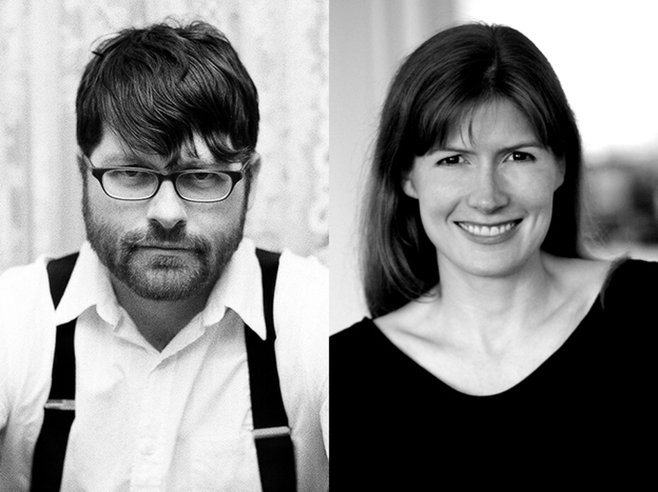 Siblings Colin Meloy, frontman of The Decemberists, and Maile Meloy, novelist.