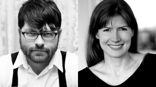 Siblings Colin Meloy, frontman of The Decemberists, and Maile Meloy, novelist. (Courtesy of the artists)