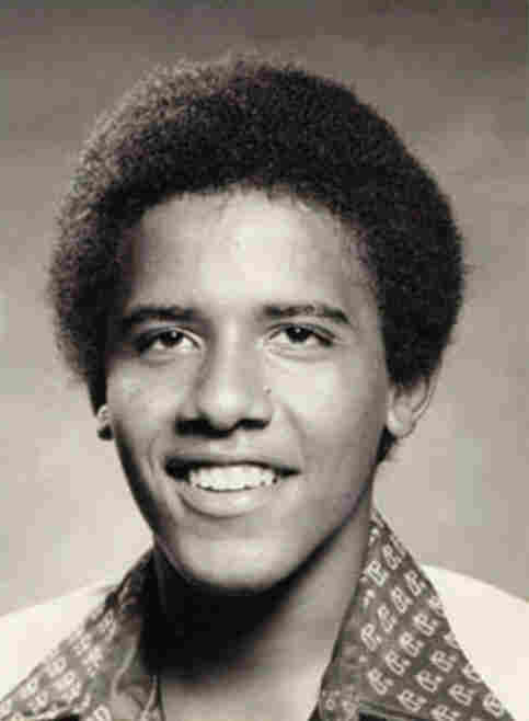 Barack Obama used this photo on his application to Occidental College.