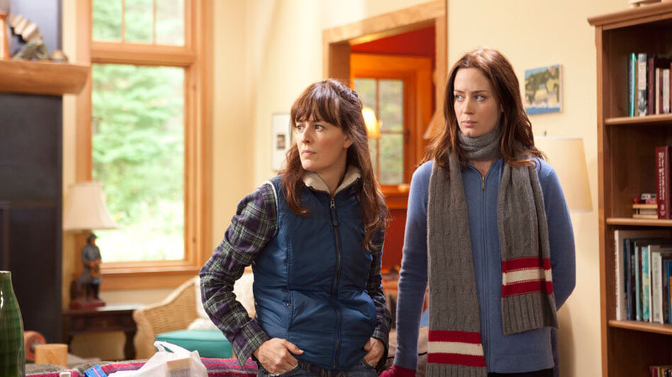 Hannah and Iris are half-sisters who reconnect during a vacation to a remote cabin on an island off the Washington coast. (IFC Films)