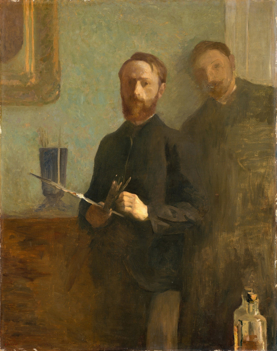 Self-Portrait with Waroquy, 1889, oil on canvas (The Metropolitan Museum of Art, New York)