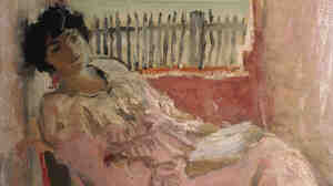 Lucy Hessel, depicted above at the seaside in 1940, was Vuillard's friend, muse and lover for more than 40 years. She was also the wife of art collector and Vuillard supporter Jos Hessel. Vuillard was with Hessel when he died in June 1940.