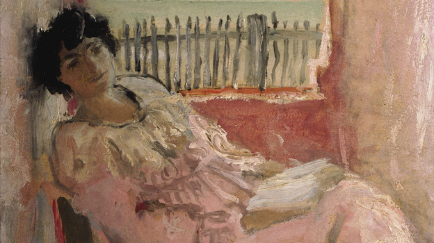 Lucy Hessel, depicted above at the seaside in 1940, was Vuillard's friend, muse and lover for more than 40 years. She was also the wife of art collector and Vuillard supporter Jos Hessel. Vuillard was with Hessel when he died in June 1940. (Hammer Museum, Los Angeles)