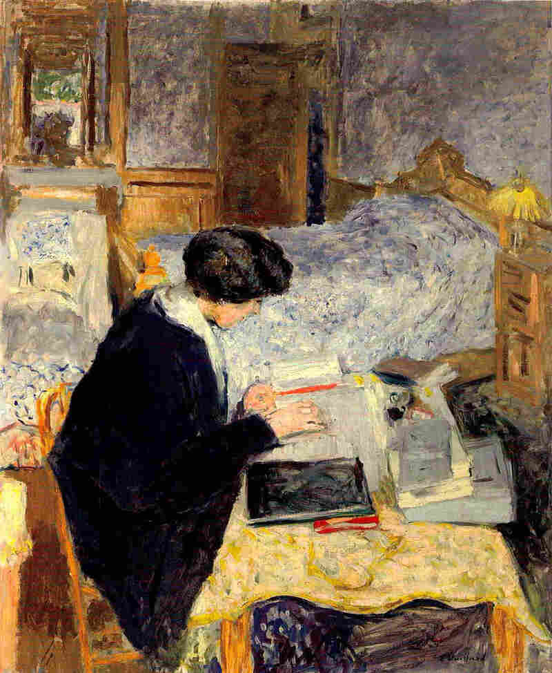 Lucy Hessel Reading, 1913, oil on canvas