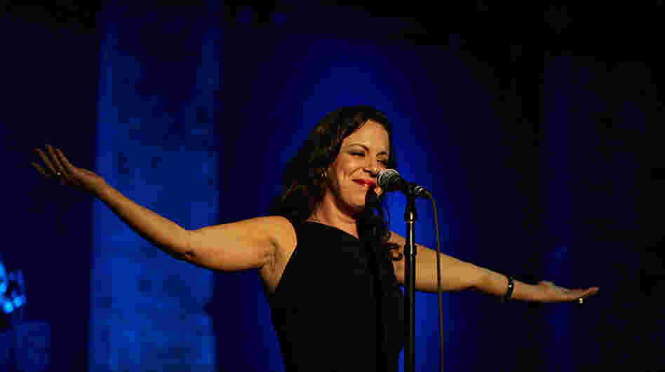 Bebel Gilberto performs at City Winery in New York City.