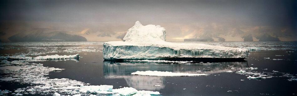 Crumbling Iceberg I, Cape Adare, Antarctica, 2006 (Camille Seaman)