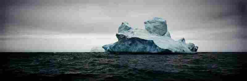 Giant Non-Tabular Iceberg, Weddell Sea, Antarctica, 2005