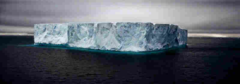 Giant Tabular Iceberg, Weddell Sea, Antarctica, 2005