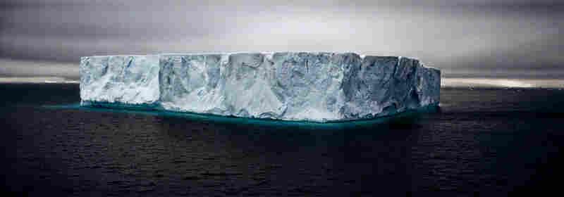 Giant Tabular Iceberg, Weddell Sea, Antarctica, 2005