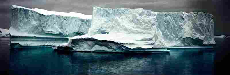 Complex Iceberg, Errera Channel, Antarctic Peninsula, December 2007