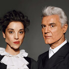Album cover for Love This Giant by David Byrne and St. Vincent.
