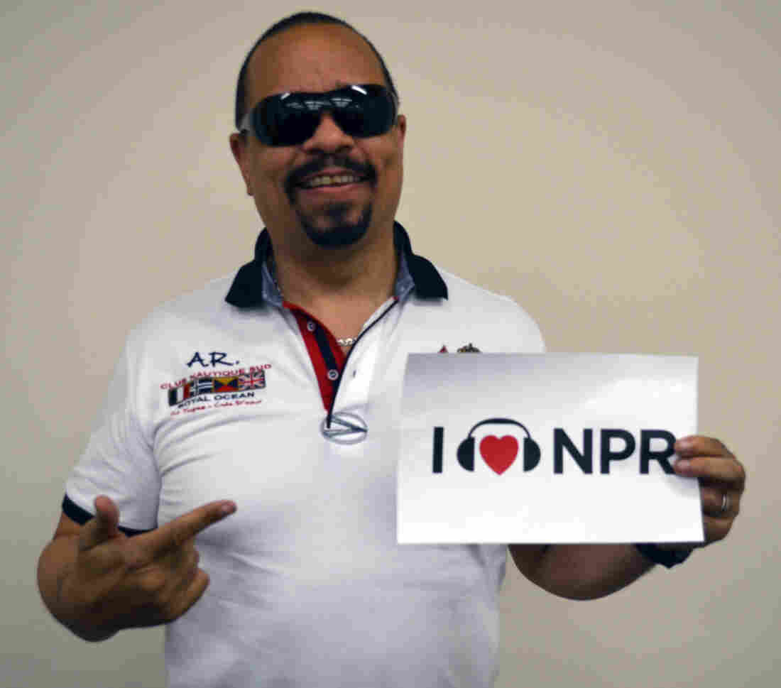 Ice-T at NPR Member station WABE in Atlanta.