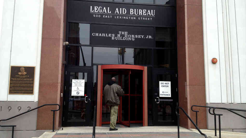 At Maryland's Legal Aid Bureau in