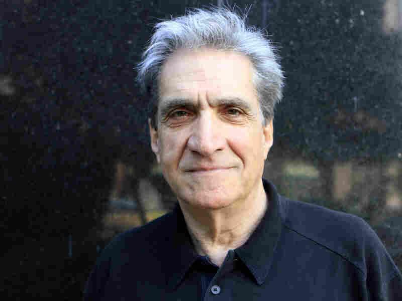 Robert Pinsky visits NPR headquarters in Washington D.C., on Thursday.