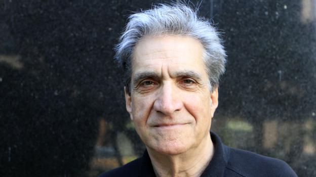 Robert Pinsky visits NPR headquarters in Washington D.C., on Thursday. (NPR)