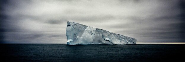 Giant Non-Tabular (wedge) Iceberg, Weddell Sea, Antarctica, 2005