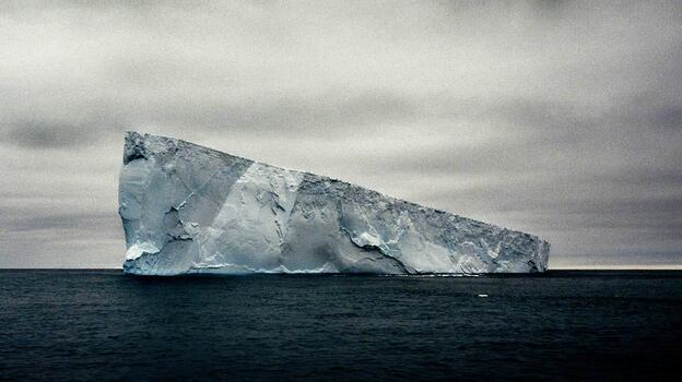 Giant Non-Tabular (wedge) Iceberg, Weddell Sea, Antarctica, 2005 (Camille Seaman)