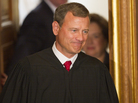 Critics say U.S. Supreme Court Chief Justice John Roberts, shown in 2010, backtracked on previous pledges to give high priority to precedent in the Citizens United campaign finance case.