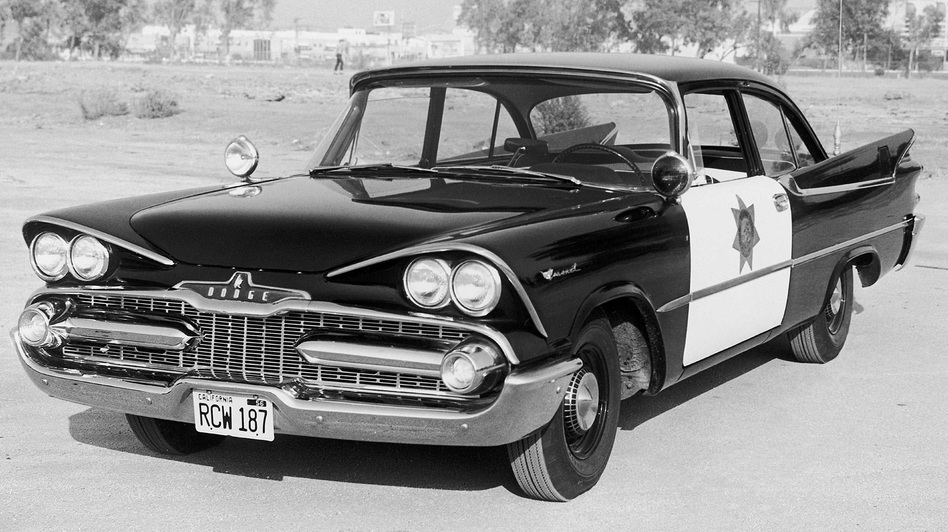 Car 54 itself was a Dodge DeSoto. (AP)