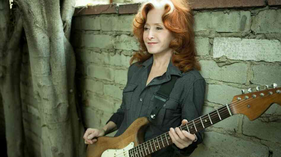 Bonnie Raitt's latest album, Slipstream, is the first release on her own Redwing Records label.