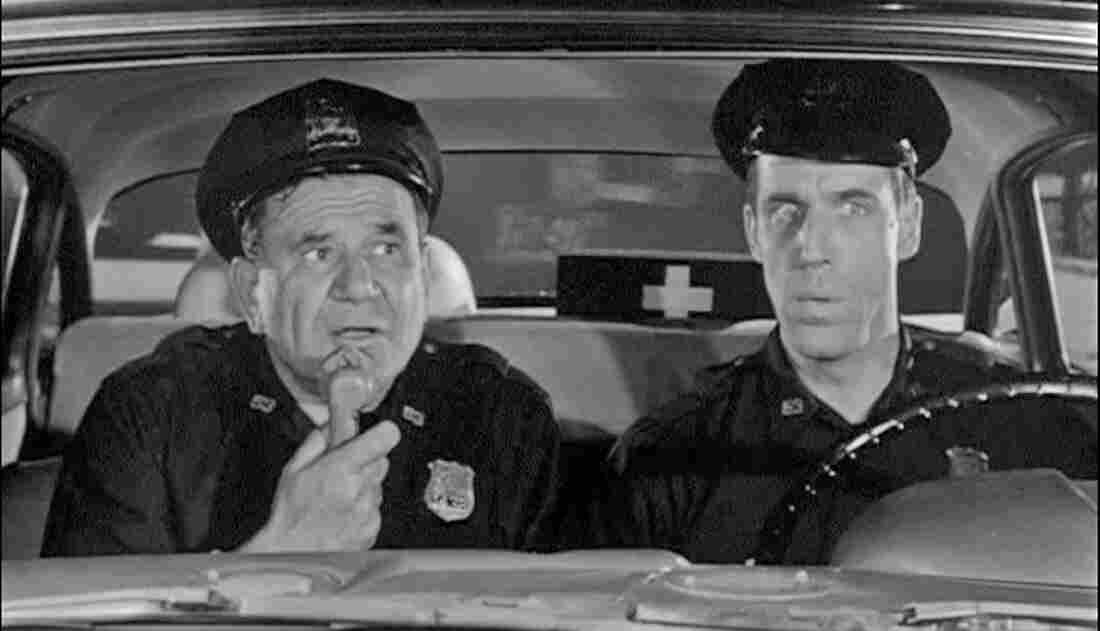 NYPD officers Gunther Toody (Joe E. Ross) and Francis Muldoon (Fred Gwynne) patrolled the Bronx in the 1960s sitcom Car 54, Where Are You?