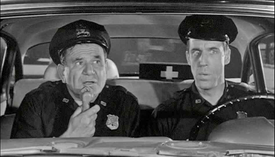 Fred Gwynne Car 54 'Car 54' Re-Release Dr...