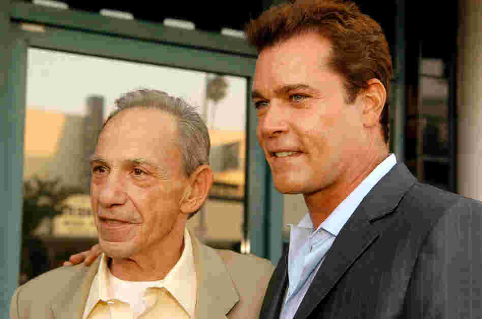 Hill (left, with Ray Liotta, who played him in the movie GoodFellas) was the central figure in Wiseguy, the 1986 Nicholas Pileggi book that later became the Martin Scorsese-directed film.