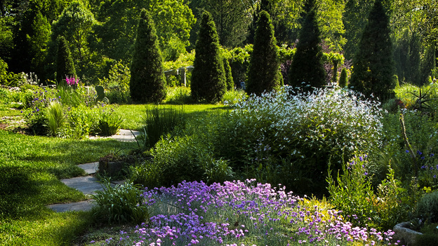 Chanticleer is a historical estate and garden in Wayne, Pa., part of the old Main Line ring of estates around Philadelphia. (Courtesy of the Lyden family)