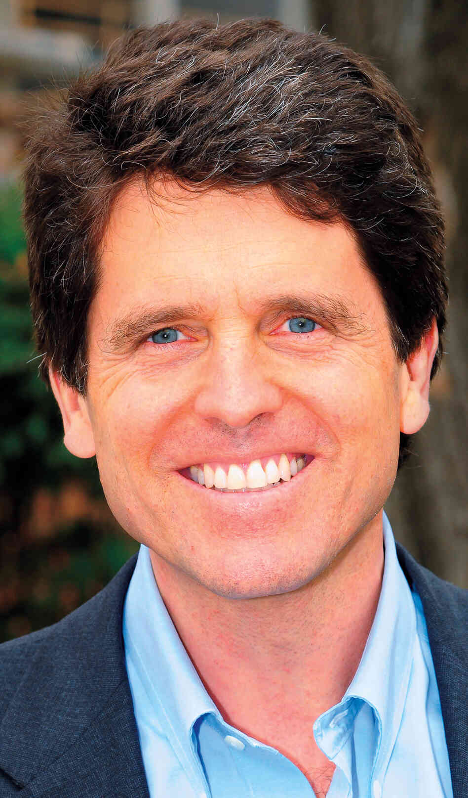 Mark Shriver says his father, Sargent, managed to balance doing great things with being a good person.