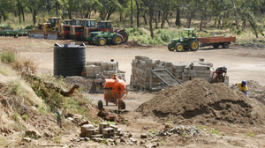 Rei do Agro is currently building its headquarters, machine shop and housing for its senior staff members, who currently live in thatched huts on-site.