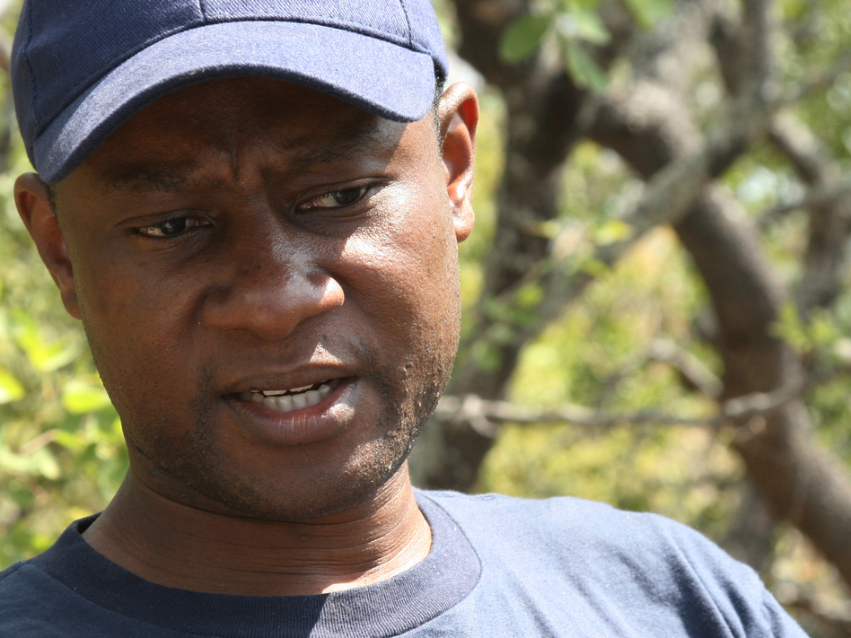 Chishamiso Mawoyo, who grew up in Zimbabwe, is chief operating officer of Aslan Group Africa. (Belchion Lucas for NPR)