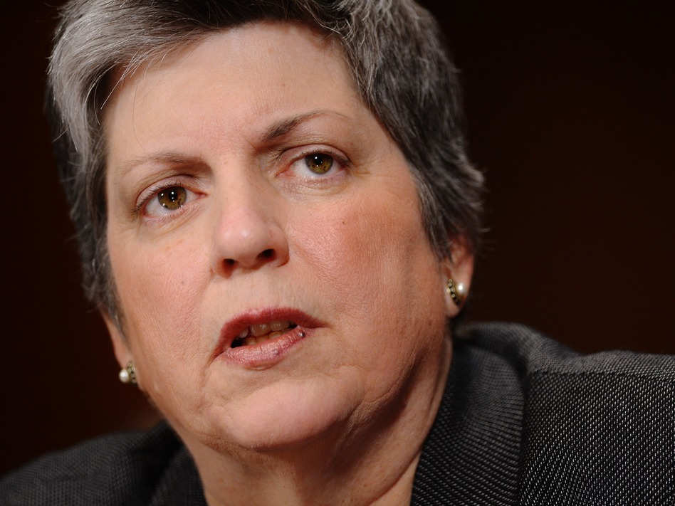 Homeland Security Secretary Janet Napolitano. (Mandel Ngan /AFP/Getty Images)