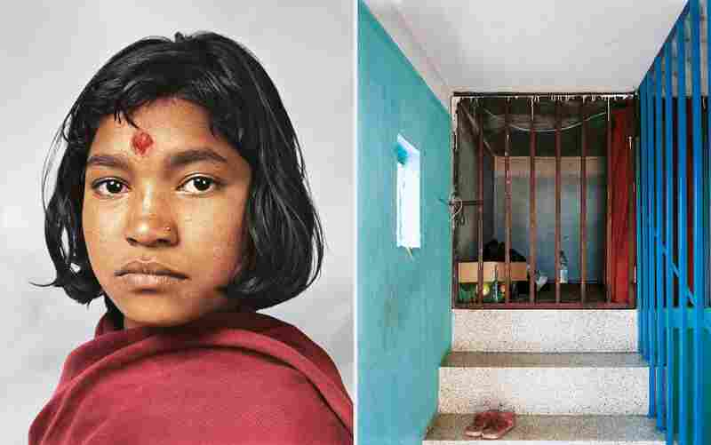 Prena lives in Kathmandu. Her room is a tiny, cell-like space at the top of the house where she is employed as a domestic worker. Her diet is mainly rice and vegetables. She is 14 years old and one of thousands of child domestic workers in the country.
