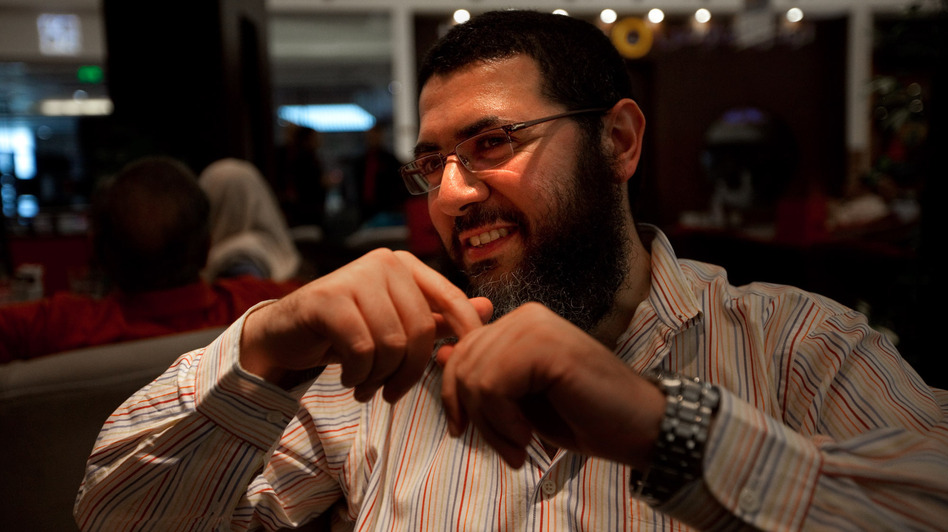 Tolba sports a bushy beard — a marker of religious conservatives — yet also wears Western-style jeans. He says he doesn't agree with all aspects of modern life in Egypt, yet he knows he cannot change things overnight. (NPR)