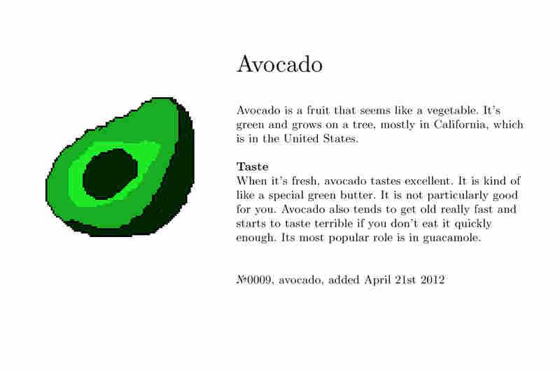 №0009, avocado