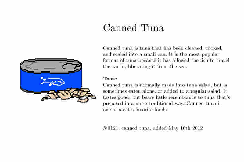 №0121, canned tuna