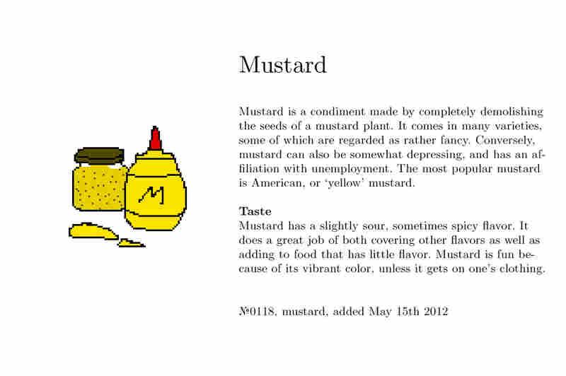 №0118, mustard